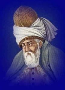 Sufi mystic poet Rumi